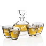 Dalkeith Decanter & 4 Double Old Fash