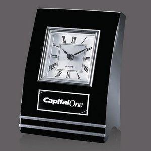 Wickham Clock - Black/Aluminum 6.5 in.
