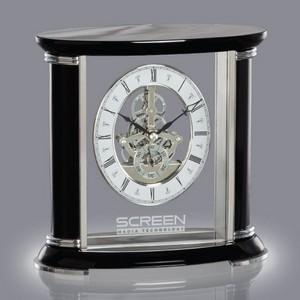 Nunzia Clock - Black/Silver 7? in