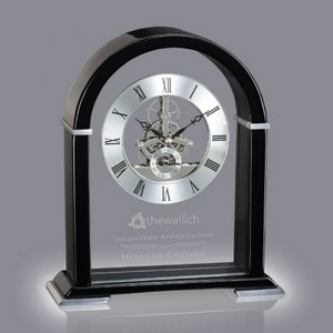 Knowsley Clock - Black 10 in