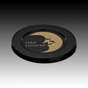 Marble Coaster - 4 in. Round