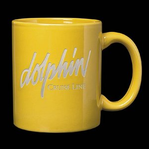 Malibu Coffee Mug - 12oz Bright Yellow