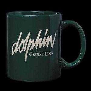 Malibu Coffee Mug - 12oz Hunter Green