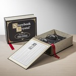 Storybook Classic Black - 2 Wine Glasses Engraved