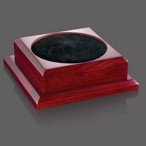 Trophy Base - Rosewood 3 .5 Diam