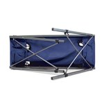Travel Table Portable Folding Table, (Black)