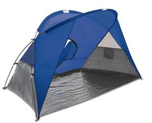 Cove Sun Shelter, (Blue with Grey Trim)