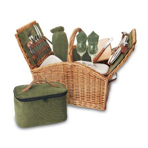 Somerset-English Style Willow Dlx Basket