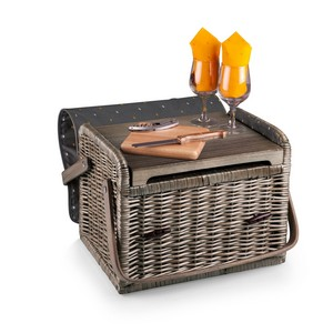 Kabrio Wine & Cheese Basket, (Anthology Collection)
