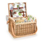 Kabrio Picnic Basket with Cutting Board & Cheese Tools - Botanica