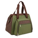 Toluca Insulated Cooler Tote - Pine Green