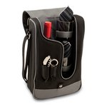 Barossa -One Bottle Deluxe Wine Tote -  Black