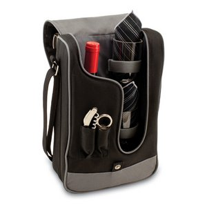 Barossa Wine Tote, (Black with Grey)