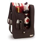 Barossa -One Bottle Deluxe Wine Tote -  Moka