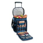Avalanche Picnic Cooler on Wheels - Navy