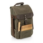 2 Bottle Insulated Wine & Cheese Cooler Bag