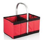 Urban Basket Collapsible Tote, (Red)