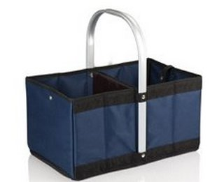 Urban Basket Collapsible Tote, (Navy)