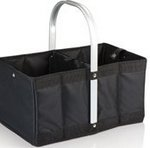 Urban Basket Collapsible Tote, (Black)