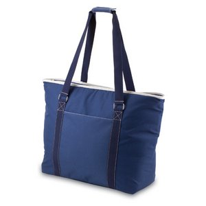 Tahoe-Navy Oversized Cooler Tote