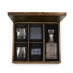 Whiskey Box with Decanter