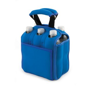 Six Pack Beverage Carrier, (Royal Blue)