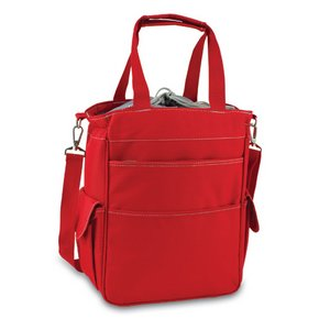 Activo Cooler Tote, (Red with Grey)