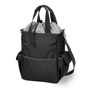 Activo- Insulated Tote-Black/Silver
