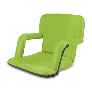 Ventura Portable Reclining Stadium Seat, (Lime)