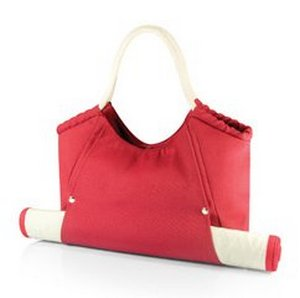 Cabo Beach Tote with Mat, (Red)