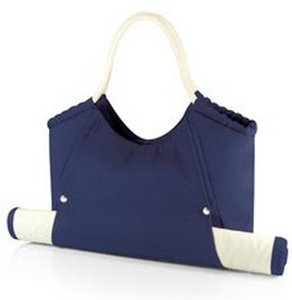 Cabo Beach Tote with Mat, (Navy)