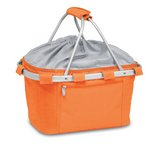 Metro Collapsible Insulated Picnic Basket - Orange