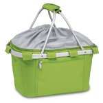 Metro Collapsible Insulated Picnic Basket - Lime