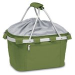 Metro Collapsible Insulated Picnic Basket - Pine Green