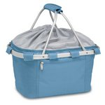 Metro Basket Collapsible Cooler Tote, (Vista Blue)
