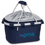 Metro Basket Collapsible Cooler Tote, (Navy)