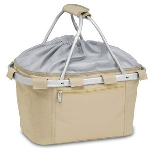 Metro Basket Collapsible Cooler Tote, (Tan)