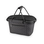Market Basket Collapsible Cooler Tote, (Anthology Collection) Picnic Basket