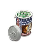 Mega Can Cooler and Seat Combo - American Flag