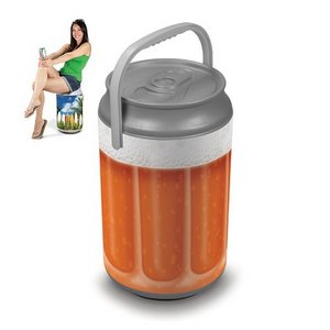 Mega Can Cooler and Seat Combo - Beer Glass