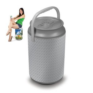 Mega Can Cooler and Seat Combo - Steel Can