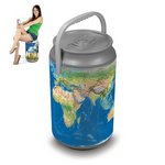Mega Can Cooler and Seat Combo - Earth Can