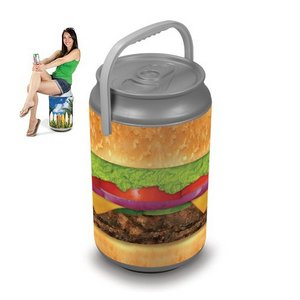 Mega Can Cooler and Seat Combo - Burger