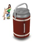 Mega Can Cooler, (Football Can Design)