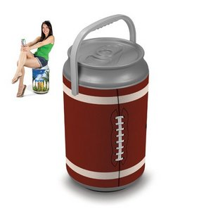 Mega Can Cooler and Seat Combo - Football