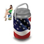 Mega Can Cooler, (American Flag Design)