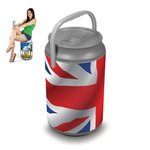 Mega Can Cooler, (Union Jack Design)