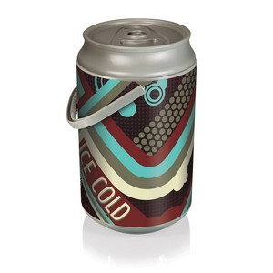 Mega Can Cooler, (Vintage Cola Design)