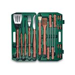 Barbecue Case 18Pc Set Green