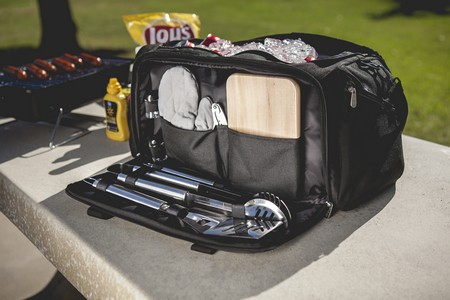 BBQ Kit Cooler, (Black)